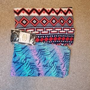 Throw blankets and pillow cases